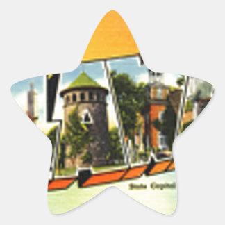 Sticker Étoile Salutations du Delaware