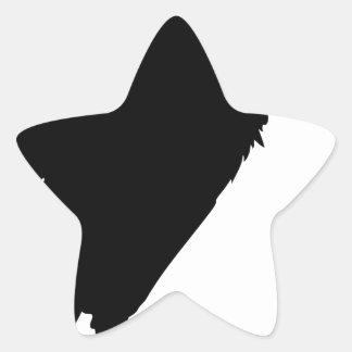 Sticker Étoile Séance de vautour