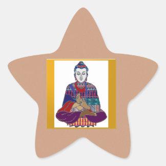 Sticker Étoile Seigneur principal Teacher Meditation d'esprit de
