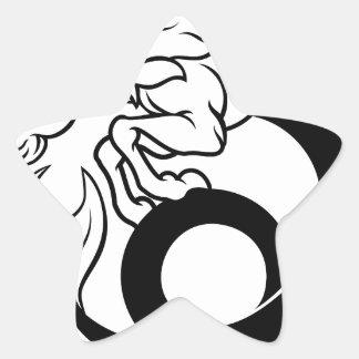 Sticker Étoile Signe de zodiaque de Capricorne d'horoscope