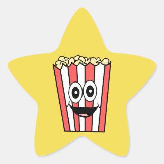 Sticker Étoile sourire de maïs éclaté