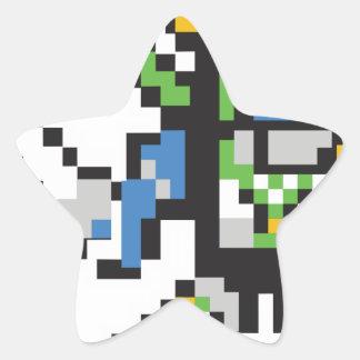 Sticker Étoile Stackitron