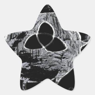 Sticker Étoile symbole wiccan pour les sorcières