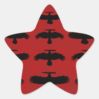 Sticker Étoile Tentative de meurtre - escadron des corneilles