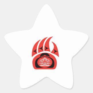 Sticker Étoile Territoire marqué