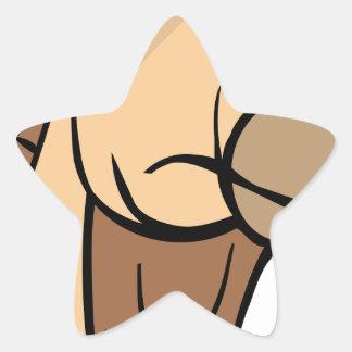 Sticker Étoile Tête de chameau
