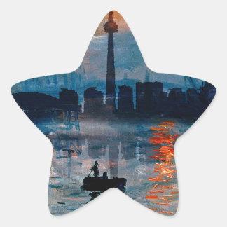 Sticker Étoile Toronto Skyline40