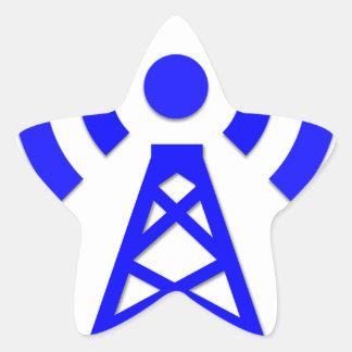 Sticker Étoile Tour de réseau