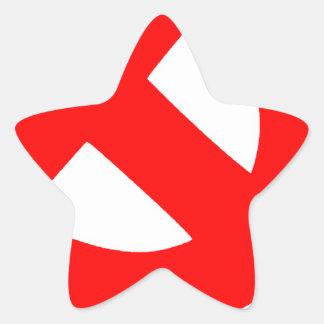 Sticker Étoile Union Soviétique primitive CCCP de marteau et de