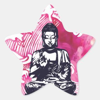 Sticker Étoile Vague de Bouddha d'ouragan