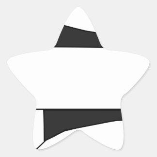 Sticker Étoile Vaisseau spatial