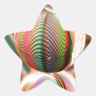 Sticker Étoile Variation sur le thème
