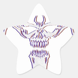 Sticker Étoile Venimeux