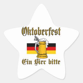 Sticker Étoile Vitesse d'Oktoberfest