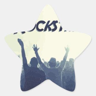 Sticker Étoile Vous êtes un Rockstar !