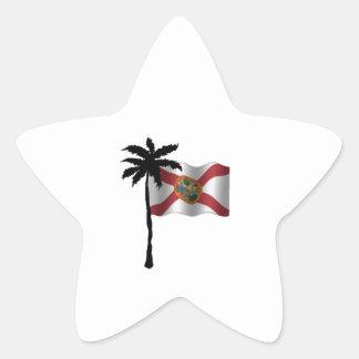 STICKER ÉTOILE VOYAGE VERS LA FLORIDE