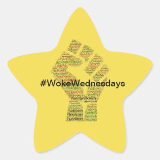 Sticker Étoile #WokeWednesdays