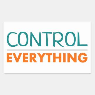 """Sticker """"Everything is under control"""""""