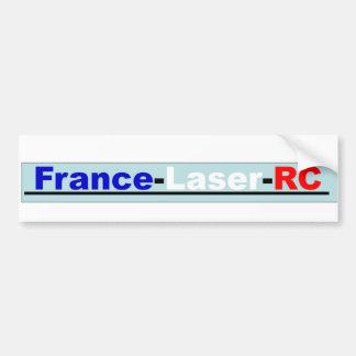 Sticker France Laser RC Autocollant De Voiture