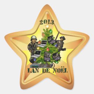 sticker LAN de Noël 2013