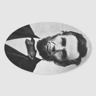 Sticker Ovale 16 Abraham Lincoln
