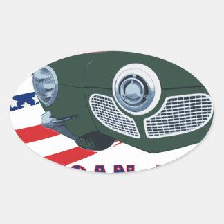 Sticker Ovale 1951 STDB le rêve américain