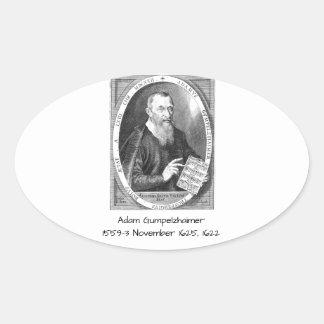 Sticker Ovale Adam Gumpelzhaimer