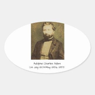 Sticker Ovale Adolphe Charles Adam, 1855