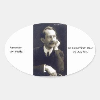 Sticker Ovale Alexandre von Fielitz