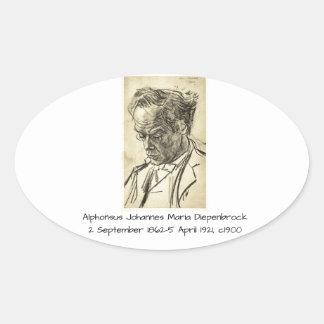 Sticker Ovale Alphons Johannes Maria Diepenbrock 1900