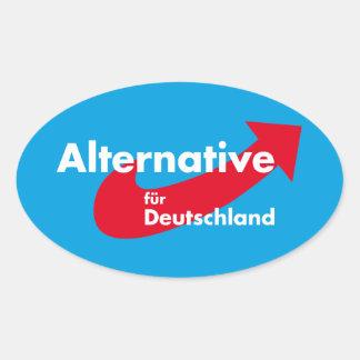 Sticker Ovale Alternative pour l'Allemagne