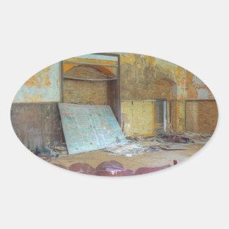 Sticker Ovale Amphithéâtre 01,0, endroits perdus, Beelitz