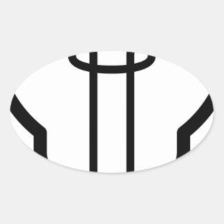 Sticker Ovale Ampoule
