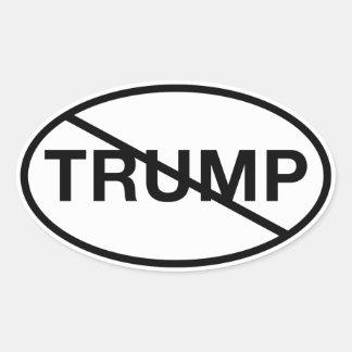 Sticker Ovale Aucun atout