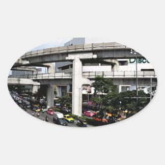 Sticker Ovale Bangkok