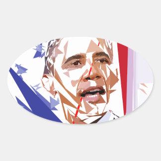 Sticker Ovale Barack Obama