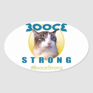 Sticker Ovale BooceStrong