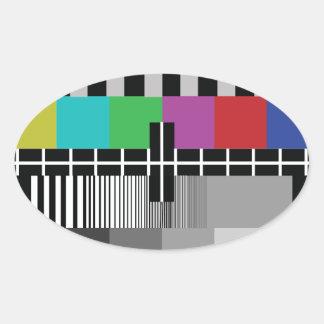 Sticker Ovale Common Essai PAL TV