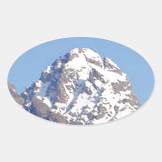 Sticker Ovale crête de couvercle rond
