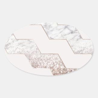 Sticker Ovale Dernière lumière
