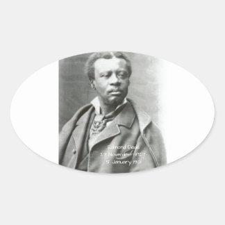 Sticker Ovale Edmond Dédé