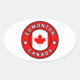 Sticker Ovale Edmonton Canada