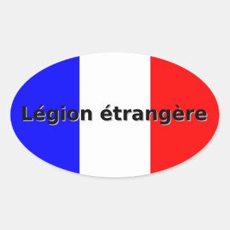 Sticker Ovale Etrangere de légion