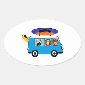 Sticker Ovale Expédition de kayak