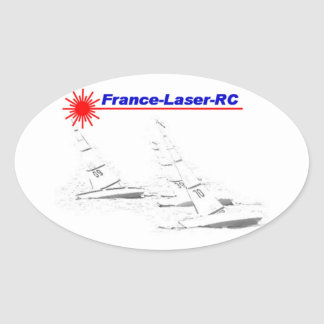 Sticker Ovale France Laser RC Classic