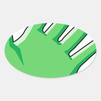 Sticker Ovale Gant
