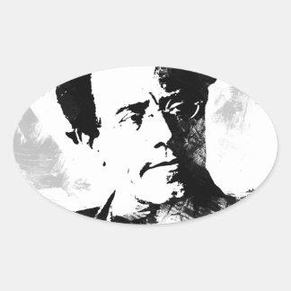 Sticker Ovale Gustav Mahler