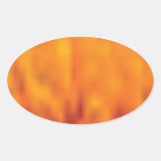 Sticker Ovale haut étroit de pollen