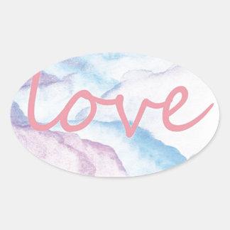 Sticker Ovale Ilovesleep