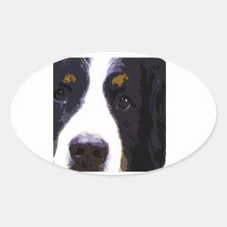 "Sticker Ovale ""IMPACT - couleur"